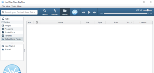 FrostWire Screenshot 1