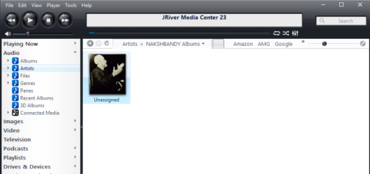 JRiver Media Center Screenshot 1
