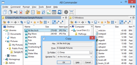 AB Commander Screenshot 1