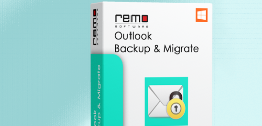 Remo Outlook Backup And Migrate Screenshot 1