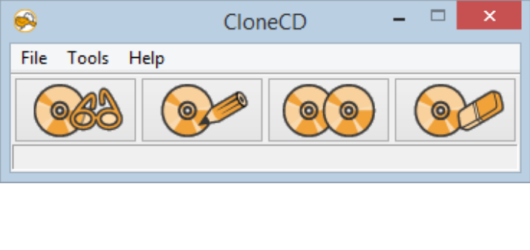 CloneCD Screenshot 1