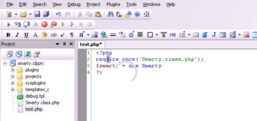 CodeLobster PHP Edition Screenshot 1