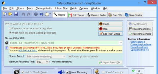 VinylStudio Screenshot 1