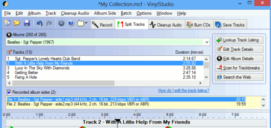 VinylStudio Screenshot 2