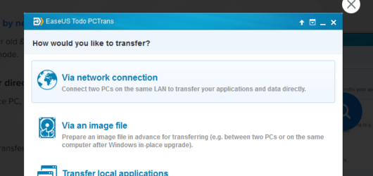 EaseUS Todo PCTrans Screenshot 3
