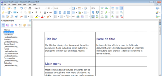 Atlantis Word Processor Screenshot 1