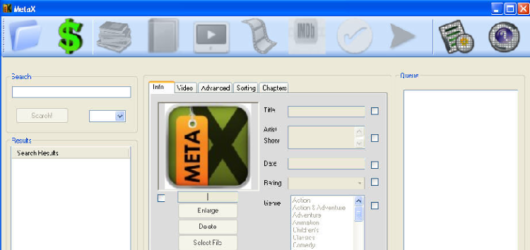 MetaX Screenshot 1