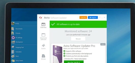 Avira Software Updater Screenshot 1