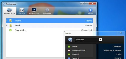 Viscosity VPN Screenshot 2