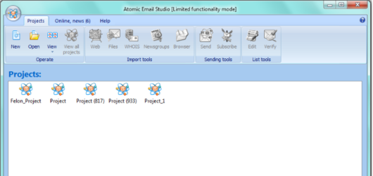 Atomic Email Studio Screenshot 1