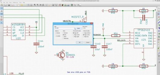 KiCad Screenshot 1