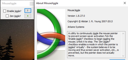 Mouse Jiggler Screenshot 1