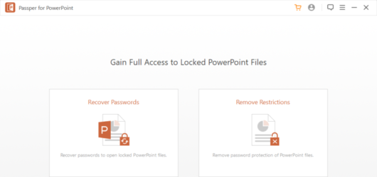 Passper for PowerPoint Screenshot 1