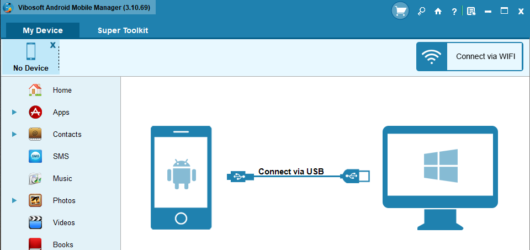 Vibosoft Android Mobile Manager Screenshot 1
