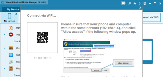 Vibosoft Android Mobile Manager Screenshot 2