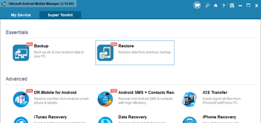 Vibosoft Android Mobile Manager Screenshot 3