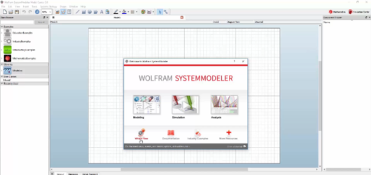 Wolfram SystemModeler Screenshot 1